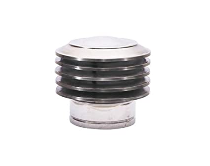 Láminas haube100/150/200 Chimenea Campana de acero inoxidable para chimenea (Tubo accesorio