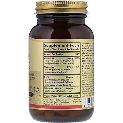 Solgar, 5-HTP 100 mg, 90 Vegetable Capsules