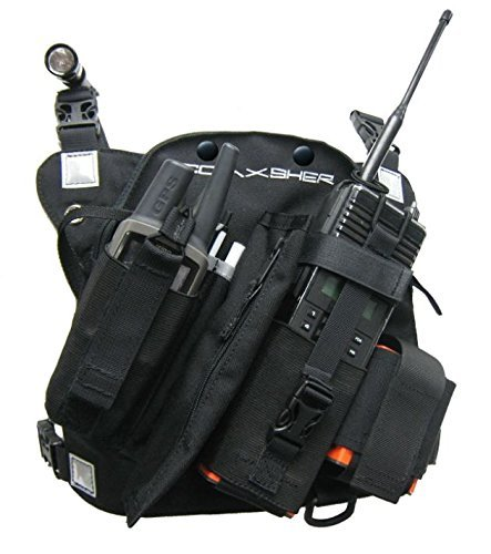 Coaxsher RCP-1, Pro Radio, Chest Harness by COAXSHER