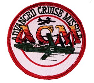 US Air Force Advanced Cruise Missile ACM Embroidered Patch