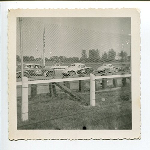 Modified Stock Car Lineup Photo #40 & #41 Mt. Clemens Speedway 3.5