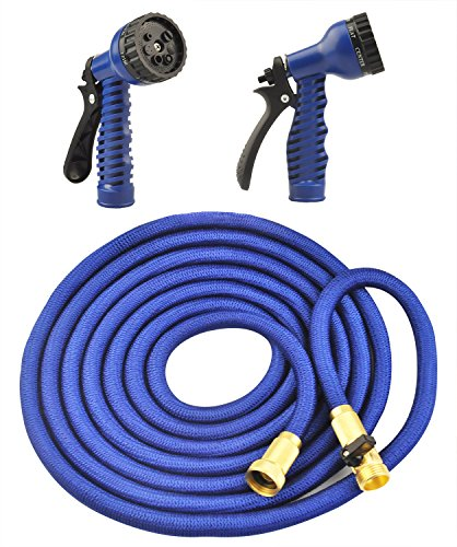 Garden Hose, FociPow Water Hose with Double Latex Core Solid