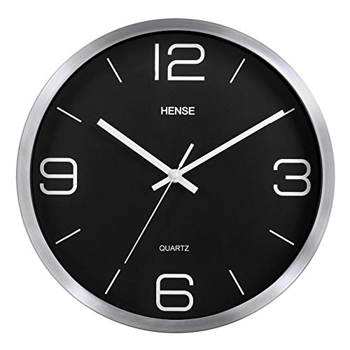 Cheap  HENSE 12-Inch Large Wall Clock Decorative Living Room Modern For Home Kitchen..