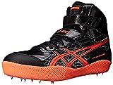 ASICS Men's Javelin Pro Track Shoe, Black/Flash Coral/Silver, 10.5 M US For Sale