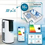 Iris-Ohyama-531469-Condizionatore-portatile-3-modalita-di-ventilazione-funzione-sleep-e-autopulente-timer-e-telecomando-8-870-BTUh-26-W-220-V-bianco