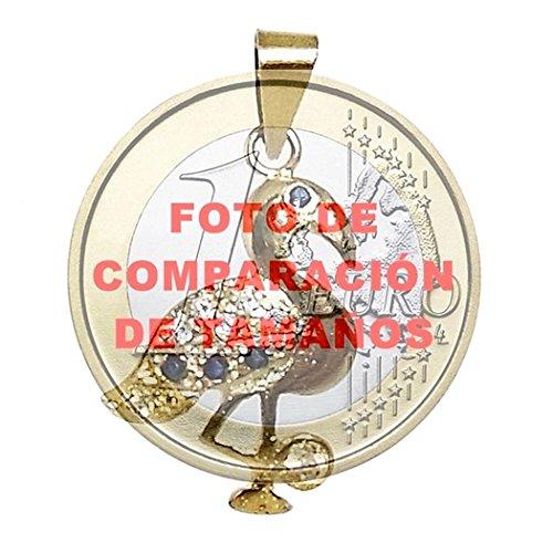 18k Les zircons Pendentif en or saphirs flamandes [286]