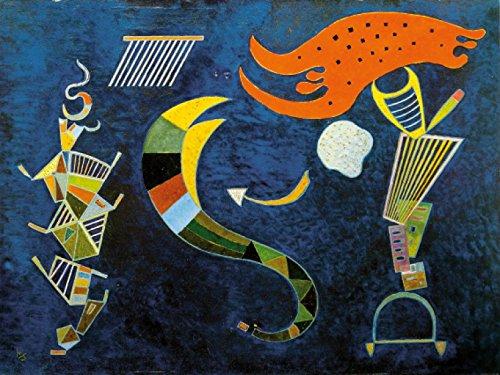 Wassily Kandinsky Poster Photo Wallpaper - The Arrow, 1943, 2 Parts (95 x 71 ()