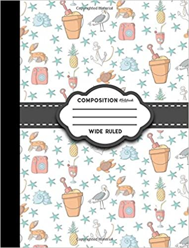 Composition Notebook Wide Ruled Composition Notebook For