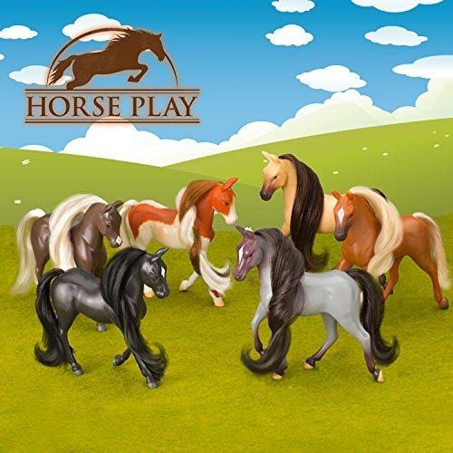 Lanard Showcase Horse Figure (Set of 6)