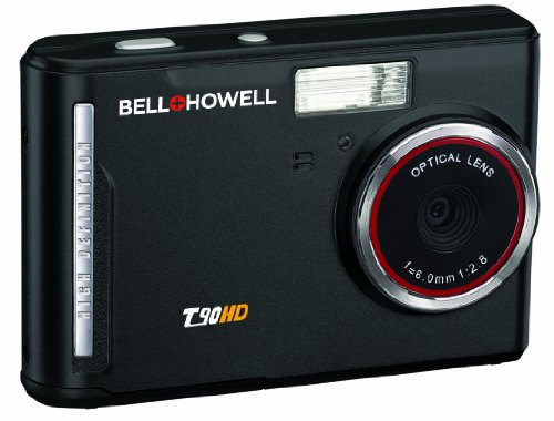 Bell+Howell T90HD-BK 12 MP Digital Camera with 2.7-Inch LCD