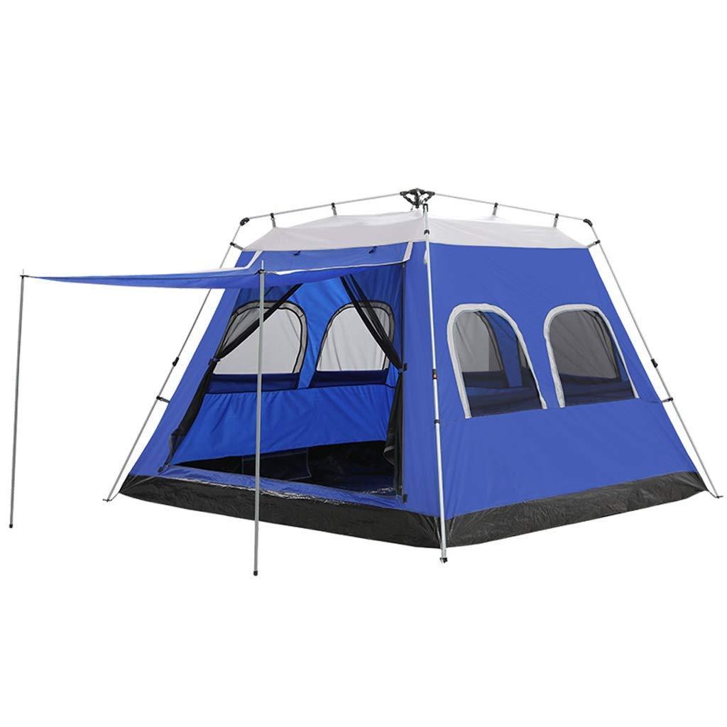 Sortie Udstyr, Grande Tente Hydraulique 5-8 Personne Tente de Camping étanche à la Pluie Instantanée Pop-Up, 2 Couleurs, Kejing Miao, vert -