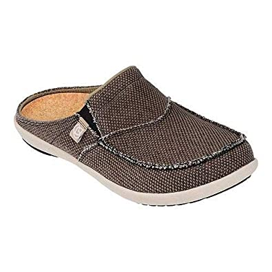 b03eea749f4 Amazon.com  Spenco Men s Siesta Canvas Slide Sandal  Shoes