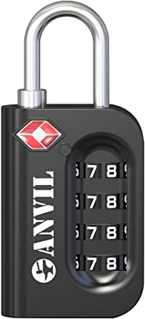 Anvil Easy-To-Use Luggage Lock