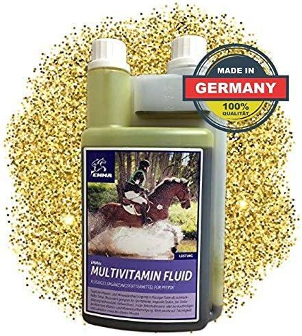 ⭐ EMMA Vitaminas para caballo - Multi líquido I alimentos ...
