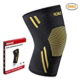 Product review for Nowus Knee Compression Brace Single Wrap Sleeve for Running, Jogging, Squats, Sports, Workout, Joint Pain Relief and Injury Recovery Support