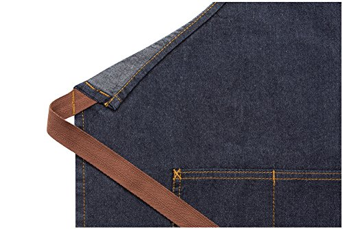 Chef Works Memphis Bib Apron (AB035) by Chef Works (Image #1)