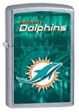 Personalized Zippo Lighter NFL Miami Dolphins - Free Engraving