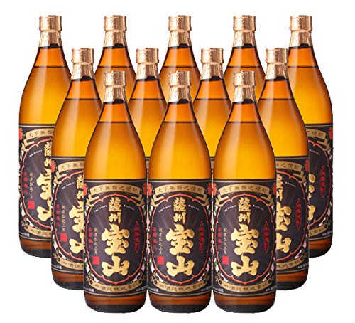 【芋焼酎】 鹿児島県 西酒造 25度 薩州宝山 900ml(12本組) B07GZ9RC3K
