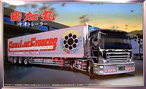 青島文化教材社 1/32 大型デコトラ No.71 由加丸 冷凍トレーラー パネルトレーラーの商品画像