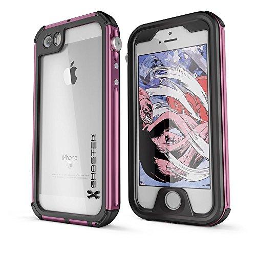 DualPro Shockproof Case for Apple iPhone SE/5S/5 (Black) - 4