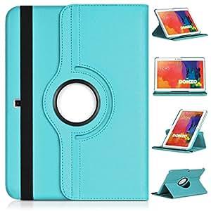 DONZO Wallet Structure 360 bolso de la tableta para Samsung Galaxy Tab 4 10.1 T530 T535 turquesa