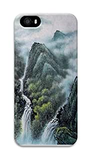 iPhone 5 5S Case Chinese landscape painting 3D Custom iPhone 5 5S Case Cover