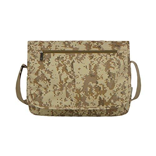 East West U.S.A MC102 Tactical Digital Camouflage Classic Messenger Bag