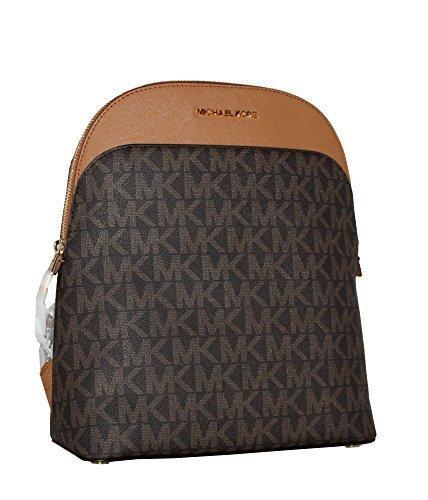 MICHAEL Michael Kors Women's EMMY Leather Backpack (Brown/acorn)