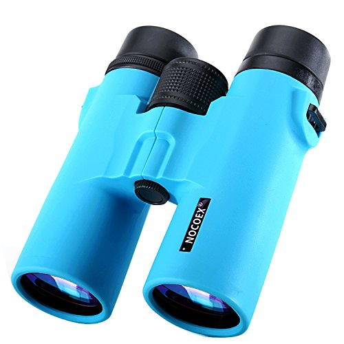 New 52 Power Girl Costume (NOCOEX 8X42 HD Binoculars - Military Telescope for Bird Watching, Hunting and Travel - Compact Folding Size with Strap - High Clear Large Vision - Sky Blue)