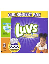 Luvs Diapers sz 3, 222 ct (Old Version) BOBEBE Online Baby Store From New York to Miami and Los Angeles