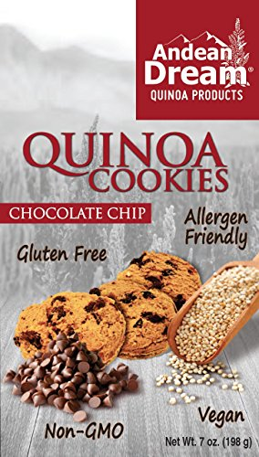 Andean Dream Gluten-Free Chocolate Chip Quinoa Cookies 7 oz. (Pack of 6)