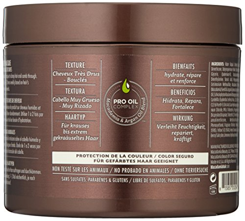 Macadamia Hair Ultra Rich Moisture Masque - 8 oz by Macadamia Professional (Image #2)