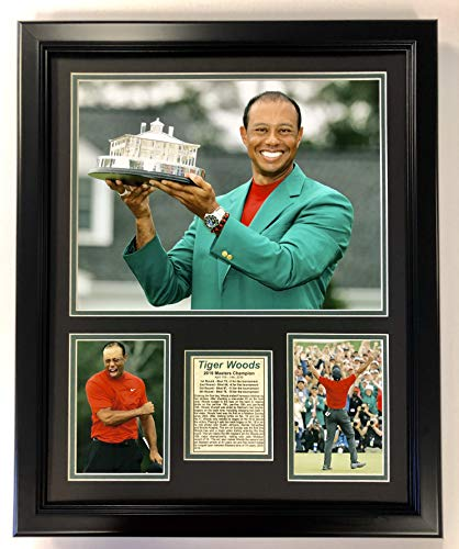 (Legends Never Die Tiger Woods - 2019 Masters Champion Trophy - 18