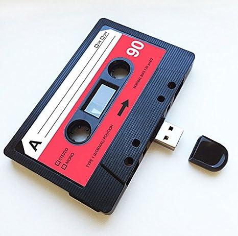 USB, retro, regalo divertido, música, chulo, bonito, amor ...