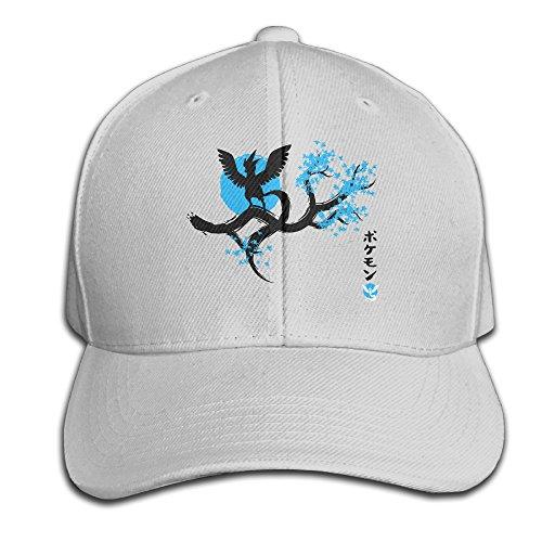 Pokemon Go Team Mystic Valor Japan Blue Baseball Snapback Cap Ash