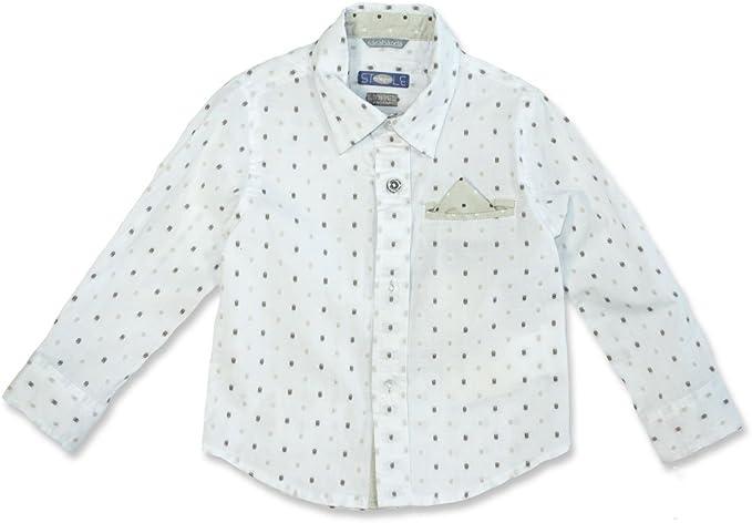 Sarabanda - Camisa - Lunares - para niño Beige 3 Años / 98 cm: Amazon.es: Ropa y accesorios