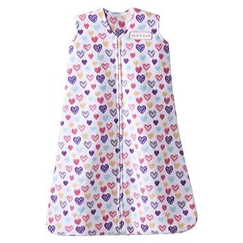 88dead0cef Amazon.com  HALO SleepSack Micro-Fleece Wearable Blanket - Colorful Hearts  - Medium (6-12 Months)  Baby