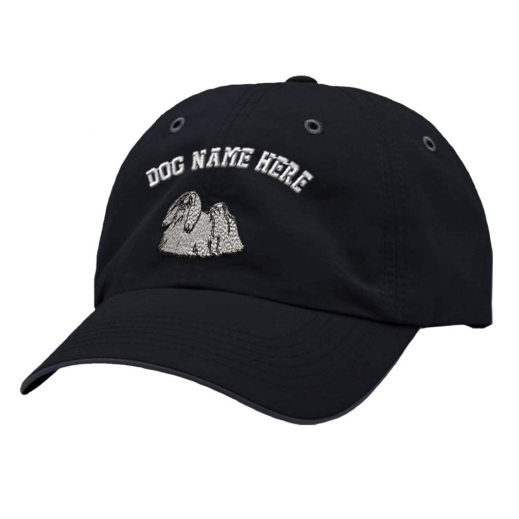 Custom Richardson Running Cap Maltase Embroidery Dog Name Polyester Hat