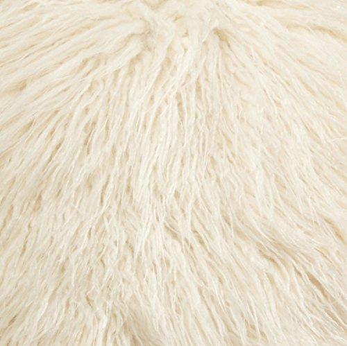 Brentwood 18-Inch Mongolian Faux Fur Pillow