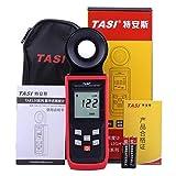 TASI TA8122 200,000Lux Digital LCD Backlight Pocket Light Meter Lux FC Measure Tester Tachometer Luxmeter offers