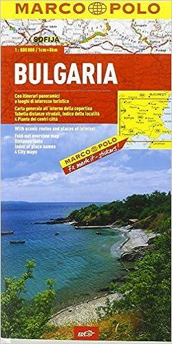 Book Bulgaria 1:800.000