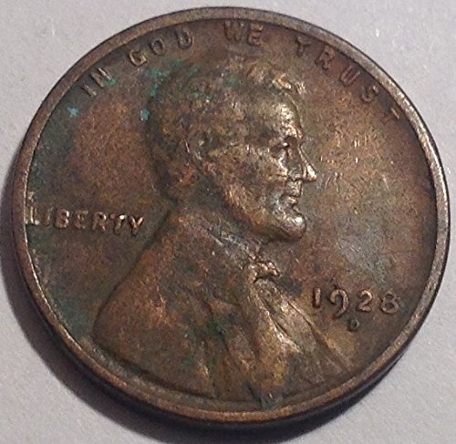 1928 D Lincoln Wheat Cent Penny Fine