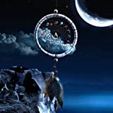 UNAKIM--Small Feather Handmade Dream Catcher Car Wall Door Hanging Decoration Ornaments