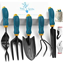 EXLUSIVE - Garden Tool Kit - Gardening Supplies Set - Quality Garden Tools Set - Vegetable Flower Garden Tools - Herb Gardening Accessories Kit - Planting Hand Tool - Gardening Gifts for Men and Women