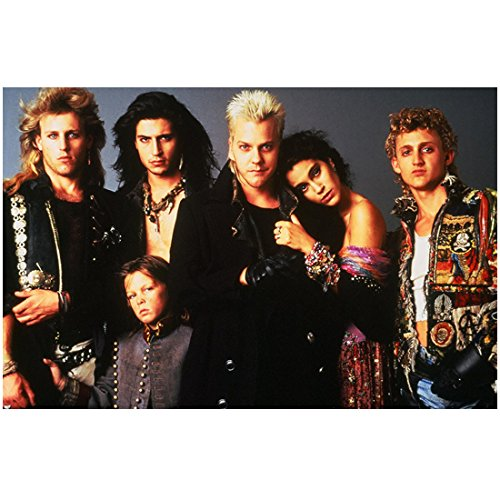 The Lost Boys vampire cast with Kiefer Sutherland as David and Jami Gertz as Star 8 x 10 Inch Photo