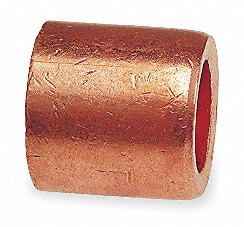 Flush Bushing, Wrot Copper, 1/2 x 1/4 In