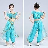 cbc03df71445a Vogue(ボーグ) ジャスミン 2点セット 風 長袖 コスプレ ドレス ワンピース ハロウィン 衣装 子供