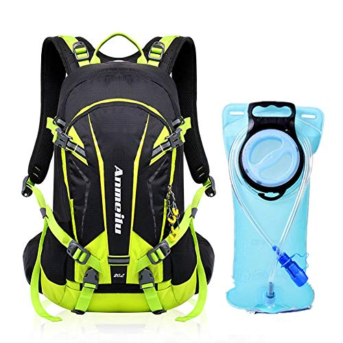 Toursion 20L Cycling Backpack with 2 Liter Bladder Waterproof Lightweight