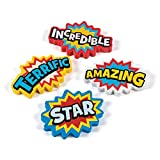 Superhero Erasers - School and Classroom Supplies - 24 per Pack - From Fun365