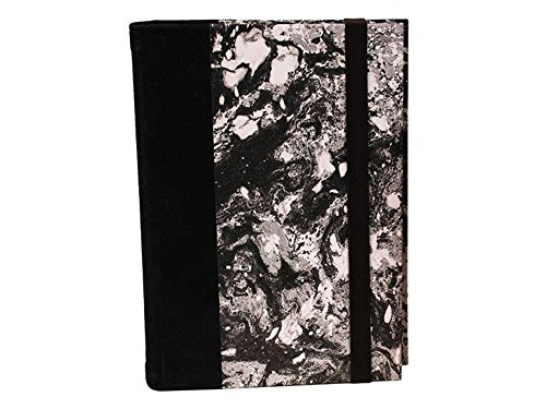 il Torchio - Refillable notebook in leather and hand-marbled paper by Torchio